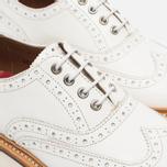 Женские ботинки Grenson Emily Brogue White фото- 3