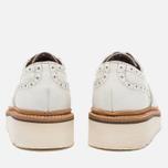 Женские ботинки броги Grenson Emily Brogue Sole Wedge White фото- 5