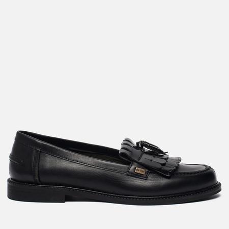 Женские ботинки лоферы Barbour Olivia Leather Black