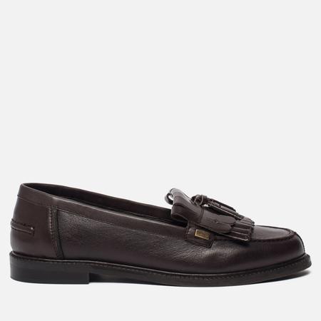 Женские ботинки лоферы Barbour Olivia Leather Brown