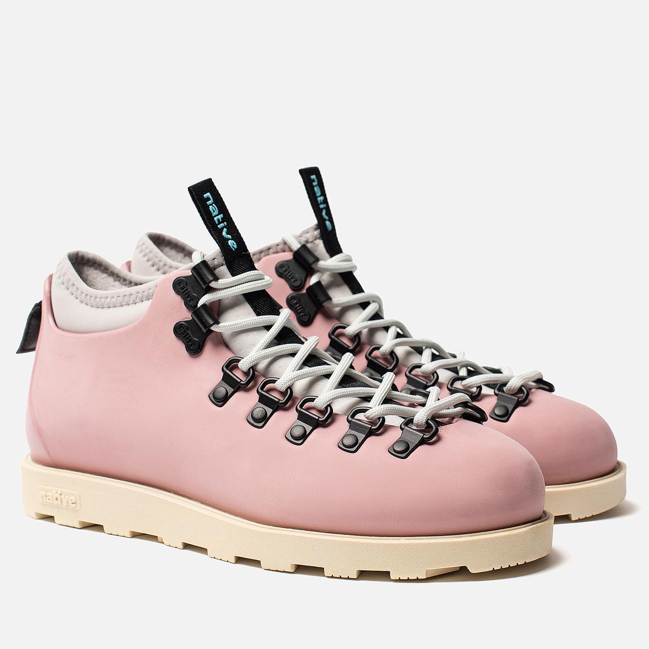 Женские ботинки Native Fitzsimmons Rose Pink/Bone White