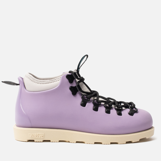 Женские ботинки Native Fitzsimmons Taro Purple/ Bone White