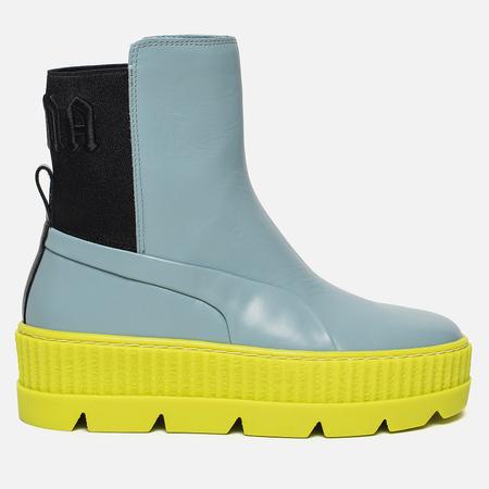 Женские ботинки Puma x Rihanna Fenty Chelsea Sneaker Boot Sterling Blue/Black/Limeade