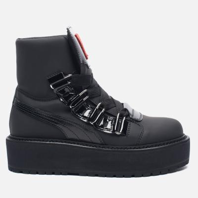 Puma x Rihanna Fenty Sneaker Boot Eyelet Black