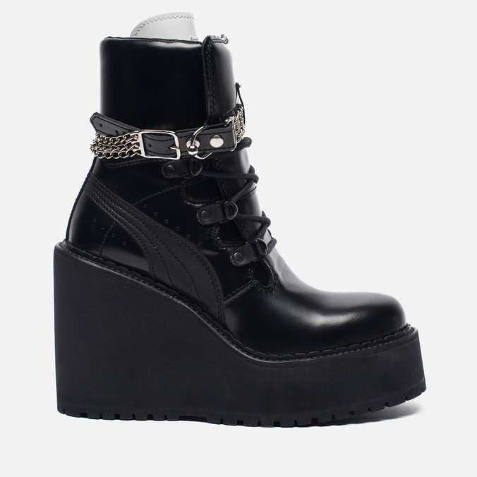 Женские ботинки Puma x Rihanna Fenty Sneaker Boot Wedge Black