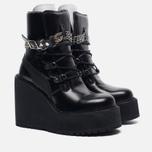 Женские ботинки Puma x Rihanna Fenty Sneaker Boot Wedge Black фото- 2
