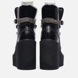 Женские ботинки Puma x Rihanna Fenty Sneaker Boot Wedge Black фото- 6