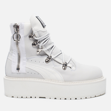 Женские ботинки Puma x Rihanna Fenty Sneaker Boot White