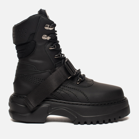 Женские ботинки Puma x Rihanna Fenty Winter Boot Nubuck Black/Metallic Beige
