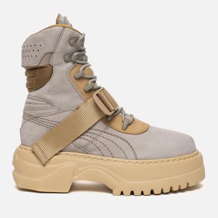 Женские ботинки Puma x Rihanna Fenty Winter Boot Nubuck Dove/Lark