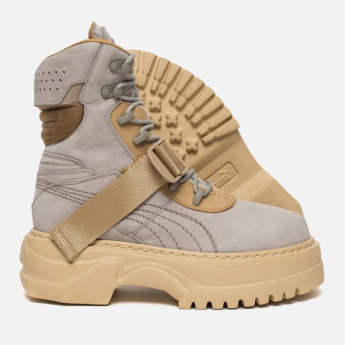 a50c7c45ab4 Женские ботинки Puma x Rihanna Fenty Winter Boot Nubuck Dove Lark 366280-02