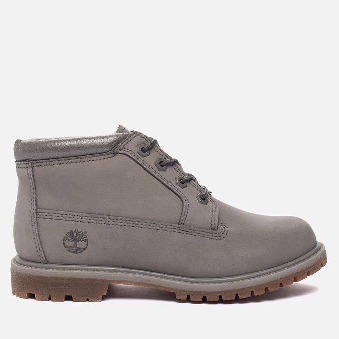 Женские ботинки Timberland Nellie Chukka Double Steeple Grey