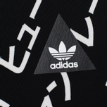 Женские леггинсы adidas Originals x Pharrell Williams HU AOP Legg Black/White фото- 1