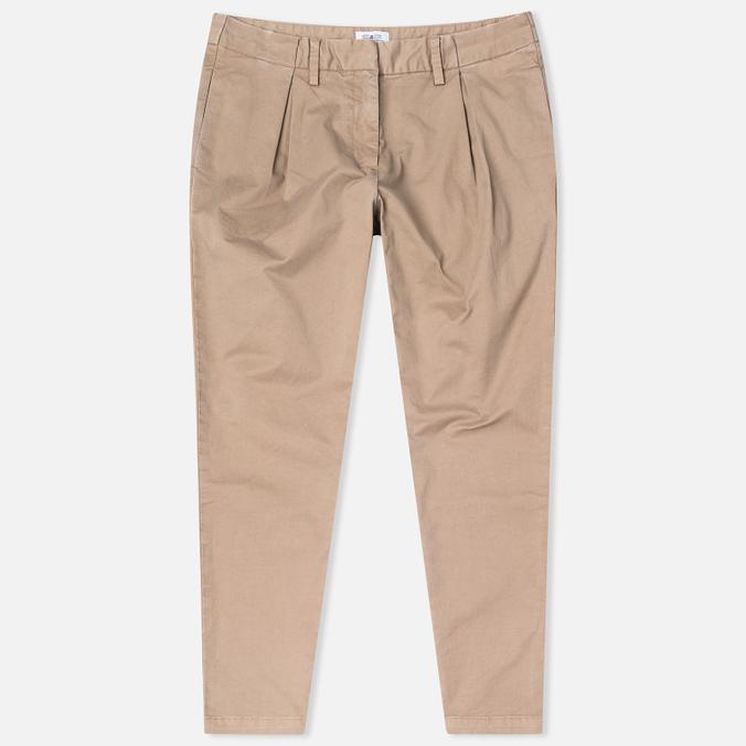 Женские брюки Barbour Pleated Chinos Stone
