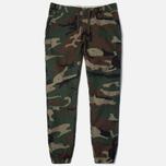 Женские брюки Carhartt WIP Grace Jogger Camo/Green фото- 0