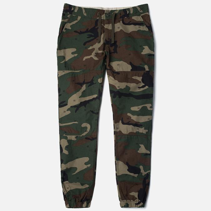 Женские брюки Carhartt WIP Grace Jogger Camo/Green