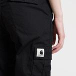 Женские брюки Carhartt WIP W' Aviation 6.5 Oz Black Rinsed фото- 9