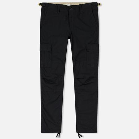Женские брюки Carhartt WIP W' Aviation 6.5 Oz Black Rinsed