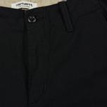 Женские брюки Carhartt WIP W' Aviation 6.5 Oz Black Rinsed фото- 2