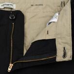 Женские брюки Carhartt WIP W' Aviation 6.5 Oz Black Rinsed фото- 1
