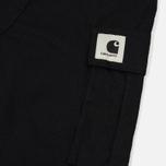 Женские брюки Carhartt WIP W' Aviation 6.5 Oz Black Rinsed фото- 4