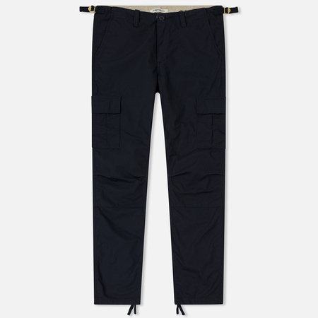 Женские брюки Carhartt WIP W' Aviation 6.5 Oz Dark Navy Rinsed
