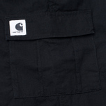 Женские брюки Carhartt WIP W' Aviation Ripstop Black Rinsed фото- 4