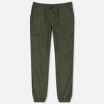 Женские брюки Carhartt WIP W' Morgan Jogger Rover Green Rinsed фото- 0