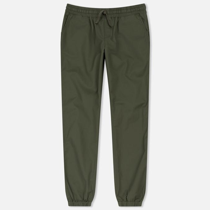 Женские брюки Carhartt WIP W' Morgan Jogger Rover Green Rinsed