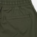 Женские брюки Carhartt WIP W' Morgan Jogger Rover Green Rinsed фото- 4