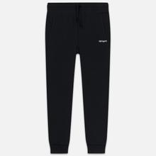 Женские брюки Carhartt WIP W' Script Embroidery 9.1 Oz Black/White фото- 0
