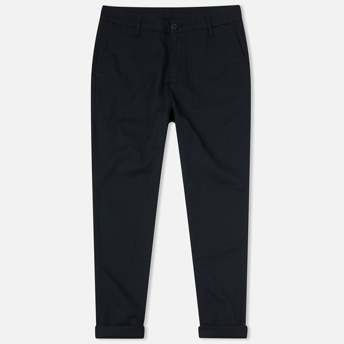 Женские брюки Carhartt WIP W' Vesper Lycra Stretch Twill 6 Oz Black Rinsed