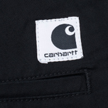 Женские брюки Carhartt WIP W' Vesper Lycra Stretch Twill 6 Oz Black Rinsed фото- 5