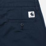 Женские брюки Carhartt WIP W' Vesper Lycra Stretch Twill 6 Oz Duke Blue Rinsed фото- 3