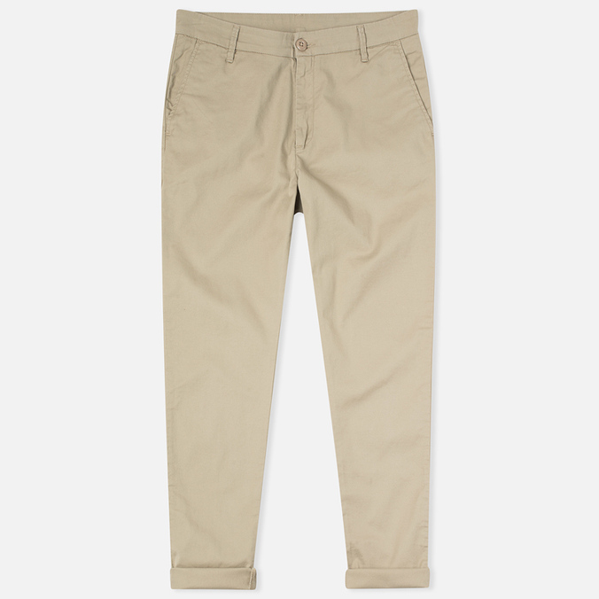 Женские брюки Carhartt WIP W' Vesper Lycra Stretch Twill 6 Oz Safari Rinsed