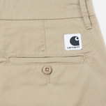Женские брюки Carhartt WIP W' Vesper Lycra Stretch Twill 6 Oz Safari Rinsed фото- 3