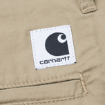 Женские брюки Carhartt WIP W' Vesper Lycra Stretch Twill 6 Oz Safari Rinsed фото- 4
