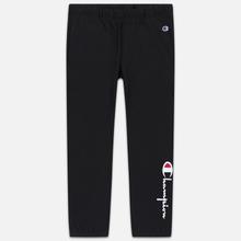 Женские брюки Champion Reverse Weave Big Script Elastic Cuff Black фото- 0