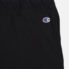 Женские брюки Champion Reverse Weave Big Script Elastic Cuff Black фото- 1
