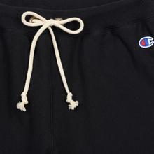 Женские брюки Champion Reverse Weave Elastic Cuff Black фото- 1