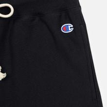 Женские брюки Champion Reverse Weave Elastic Cuff Black фото- 2