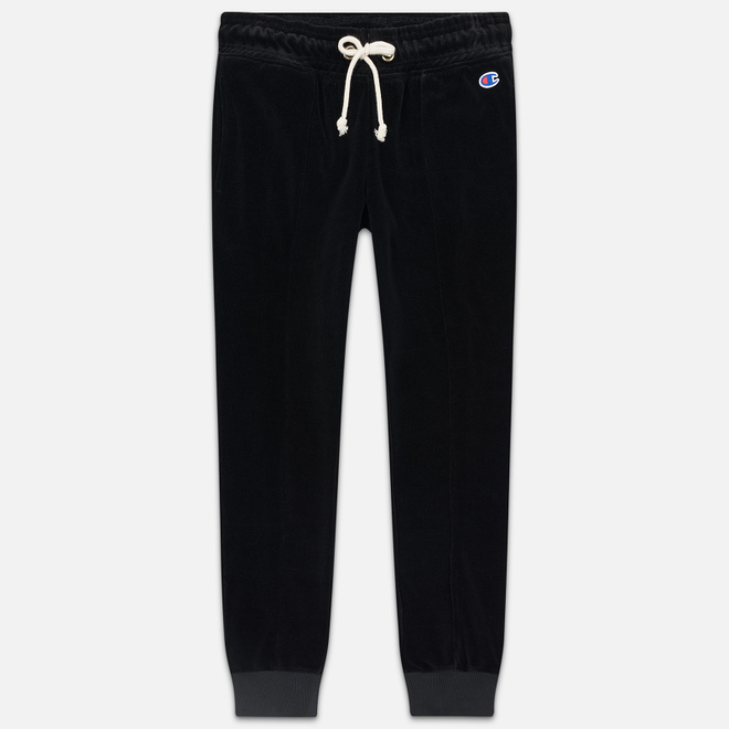 Женские брюки Champion Reverse Weave Heavy Velour Rib Cuff Black