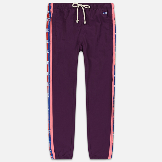 Женские брюки Champion Reverse Weave Logo Tape Elastic Cuff Violet/Pink