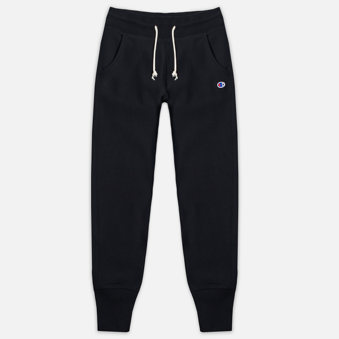 Женские брюки Champion Reverse Weave Rib Cuff Black