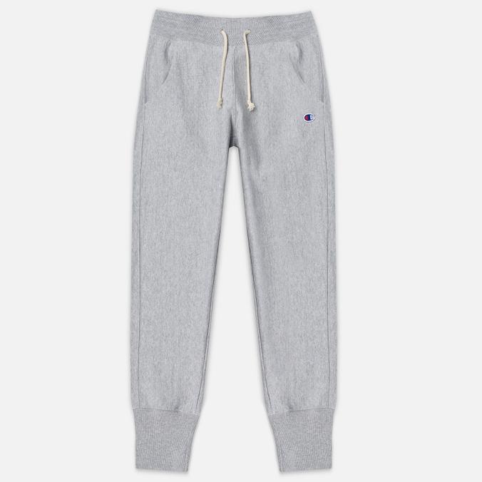 Женские брюки Champion Reverse Weave Rib Cuff Grey Marl