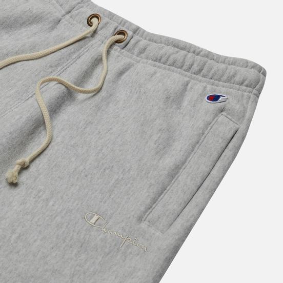 Женские брюки Champion Reverse Weave Rib Cuff Light Brushed Fleece Light Grey