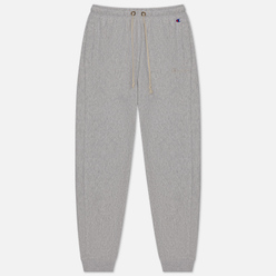 Женские брюки Champion Reverse Weave Rib Cuff Light Brushed Fleece Light Grey