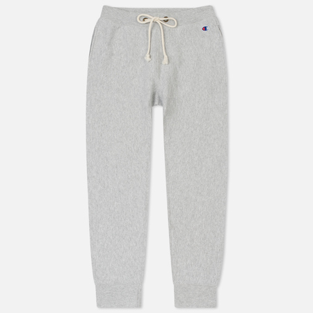 Женские брюки Champion Reverse Weave Rib Cuff Mini Logo Grey Marl