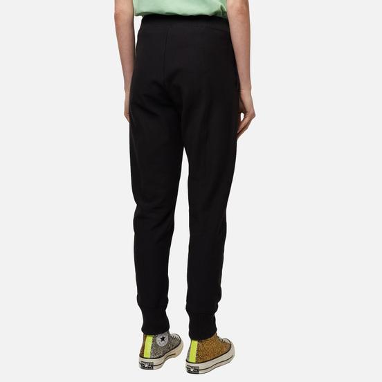 Женские брюки Champion Reverse Weave Rib Cuff Stretch Reverse Weave Terry Black