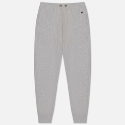 Женские брюки Champion Reverse Weave Rib Cuff Stretch Reverse Weave Terry Light Grey